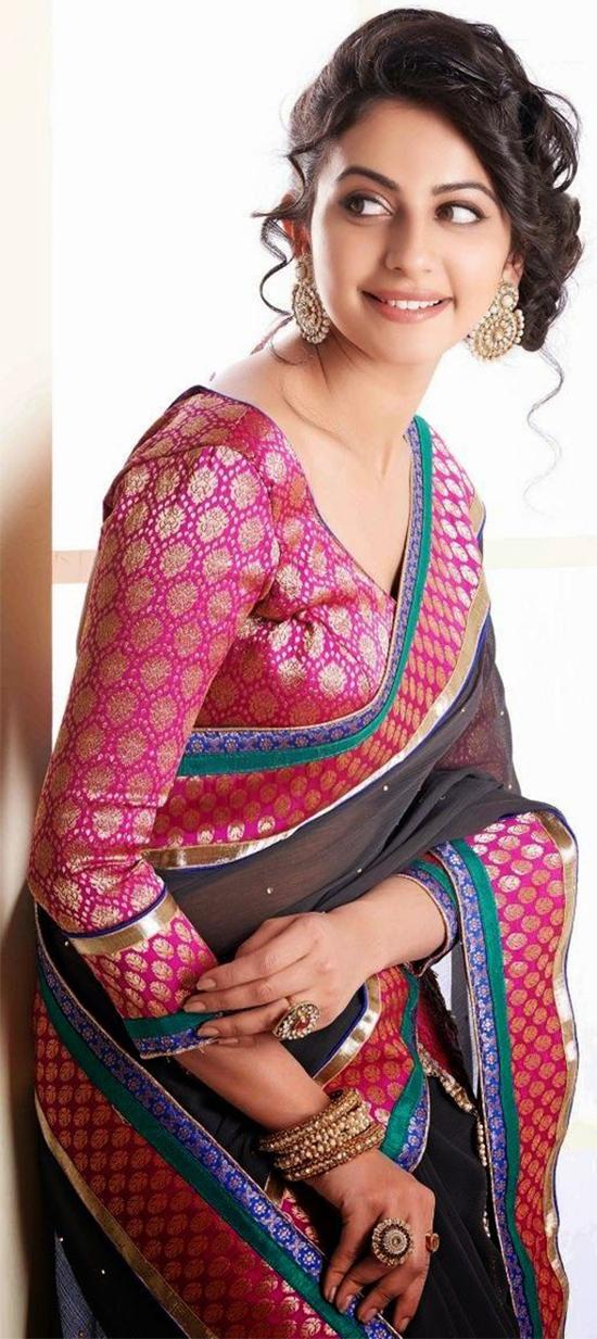 Rakul Preet looking gorgeous in saree