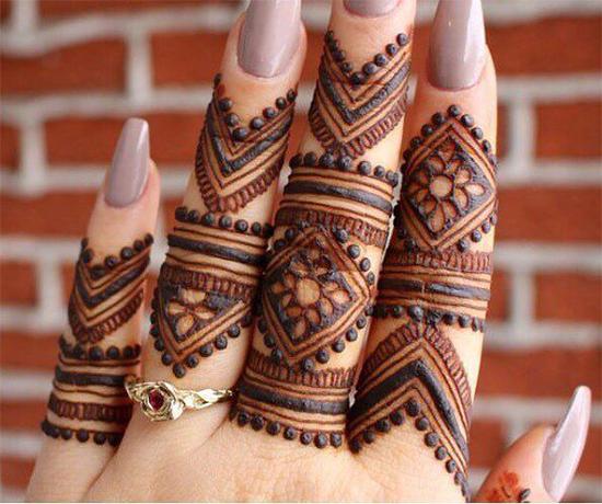 Arabic Bridal Mehendi Design For Fingers