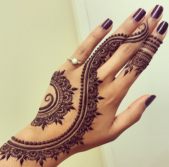 25 Easy And Latest Mehndi Designs For Fingers With Unique And Fashionable Style