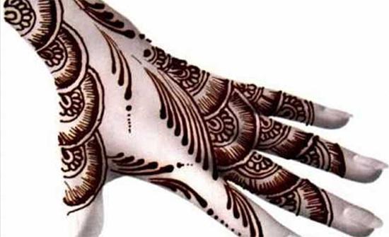 Beautiful Arabic Mehendi Design