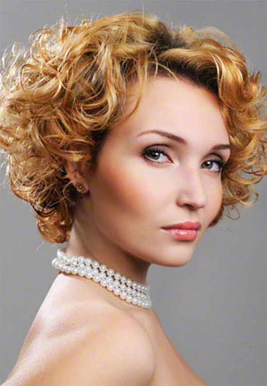 Beautiful Short Hairstyle For Fine Hair