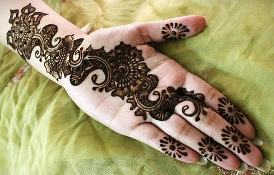 Bengali Henna Design