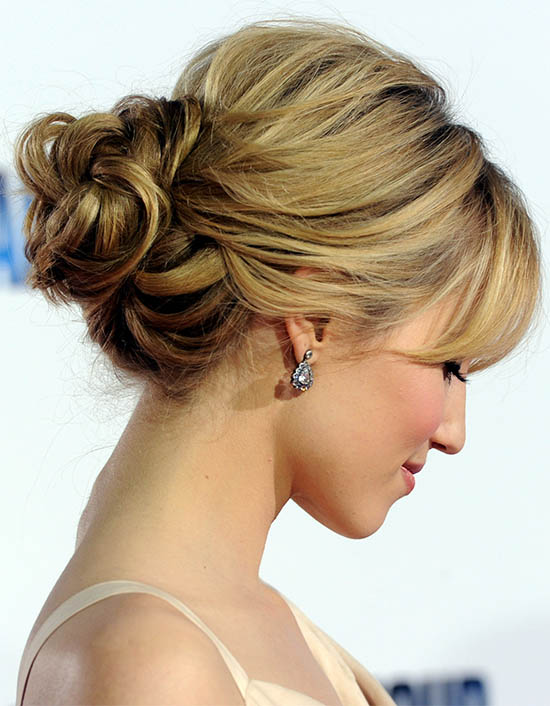 Best Casual Bun Hairstyle For Long Hair