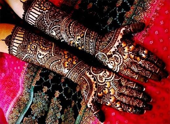 Bridal Mehendi Design For Full Hands
