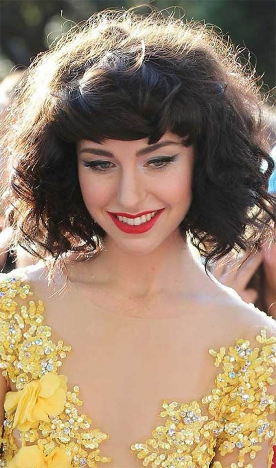 Curly Bob Hairstyles Fit