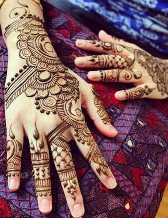 Eye-Catching Mehendi Designs