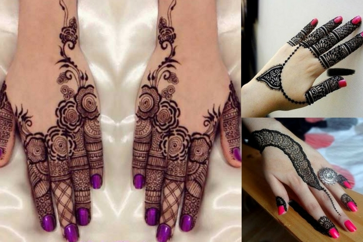 Mehndi Designs In Fingers : Easy and latest mehndi designs for fingers with unique