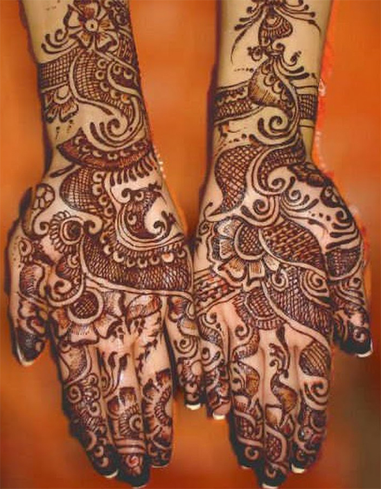 Flowers Curly Special Mehandi