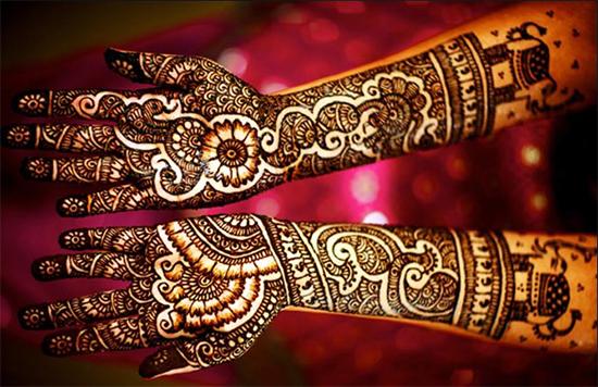 Great Marwari Bridal Mehendi Design