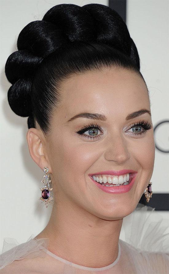 Katy Perry Bun Hairstyle