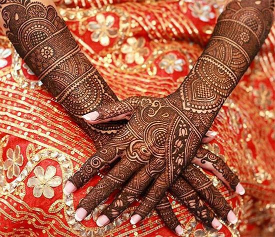 Marwadi Full Hand Mehendi Design