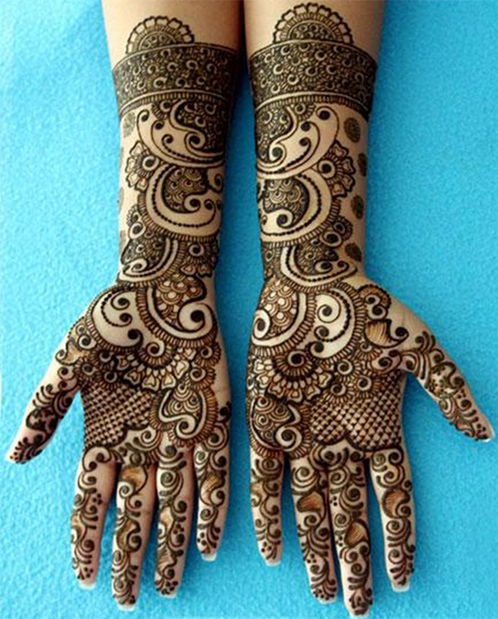 Mehandi lovers special design