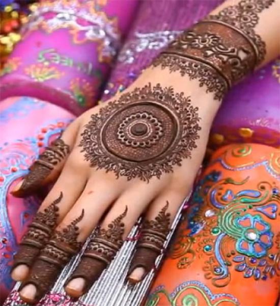 Pakistani Finger Hands Eid Mehendi Design