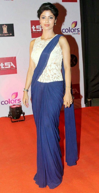 Sayantani Ghosh Lace Blouse With U shape Neck