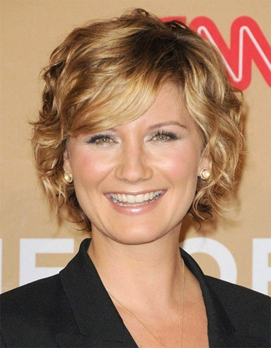 Short Hairstyles For Fine Hair Curly