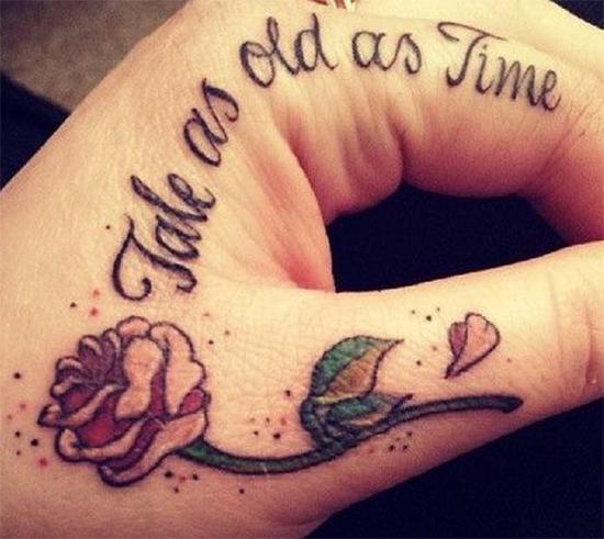 27 Inspiring Rose Tattoos Designs: 30 Amazing Inspirational Small Tattoos