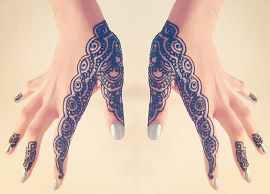 Thumb And Finger Design