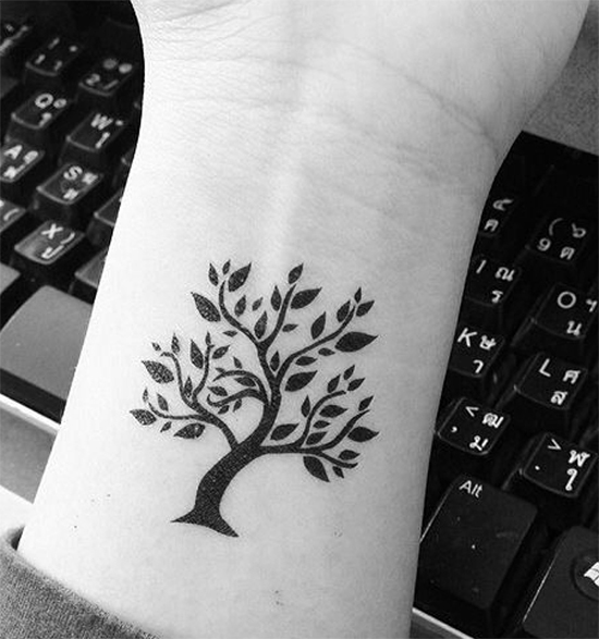 Small Tree Of Life Tattoo: 30 Amazing Inspirational Small Tattoos