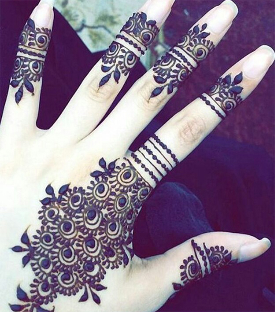 Unique Mehendi Designs For Your Fingertips