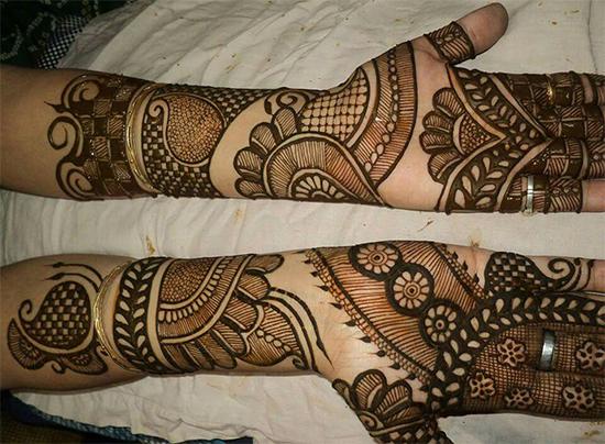 Wonderful Rajasthani Mehendi Pattern