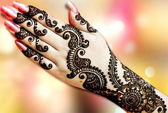 Cool Explore Henna Designs Back