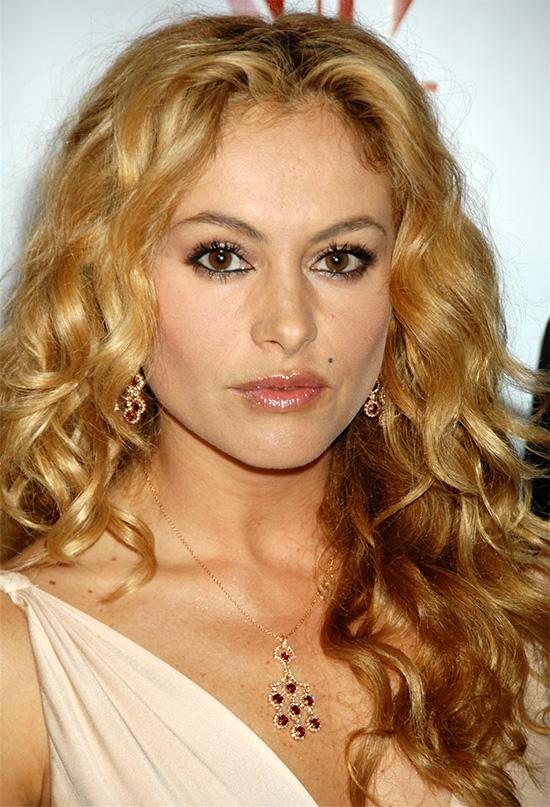 Paulina Rubio Long Curly Hairstyles