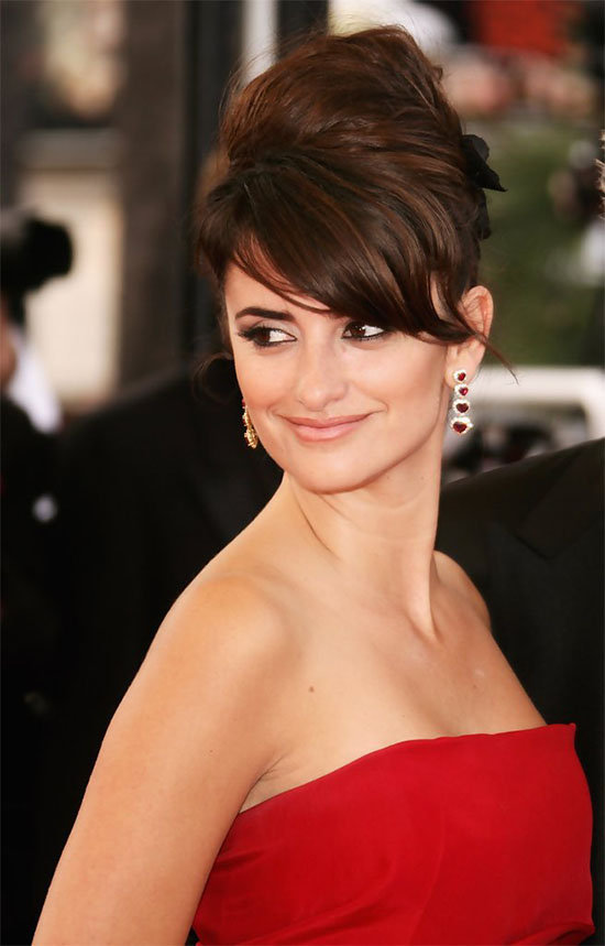 Penelope Cruz French Twist