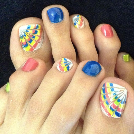 Health Beauty Nail Toe Art: Butterfly,Ants,Zebras And More Animal Themed Nail Arts