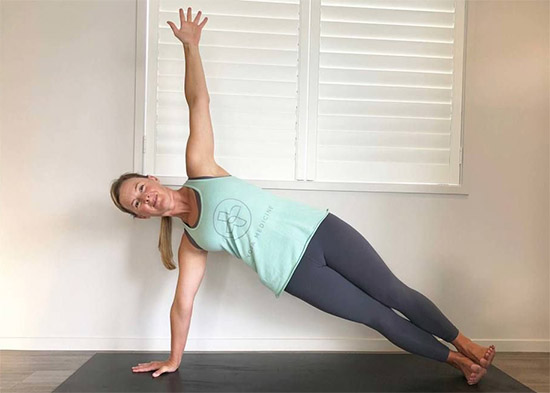 Side Plank, Strength & Arms