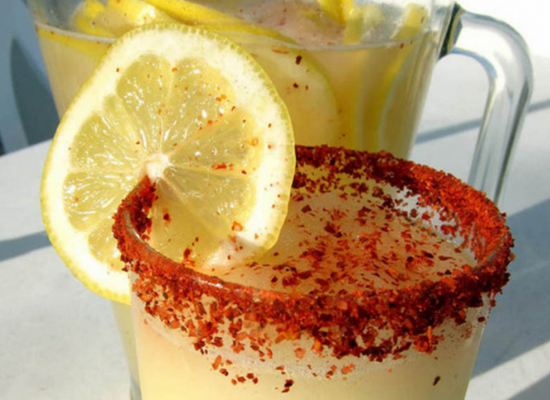 Cayenne pepper with lemon