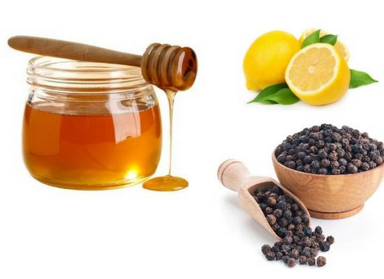 Lemon juice with Black pepper